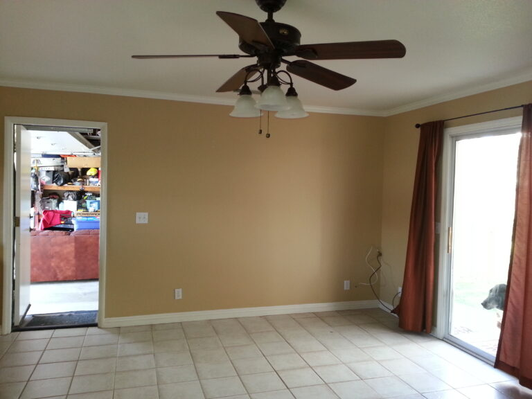 Dining Area Remodel